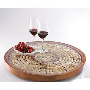 Wine Cork Laxy Susan