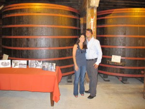 Redwood Wine Storage Tanks