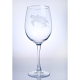 Sea turtle wine glass set sold separately.