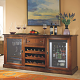 Credenza with Beverage Center