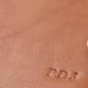 Deboss Monogram Example