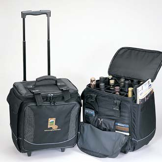 Wine Luggage For 12 Bottles With Logo 25 Pieces