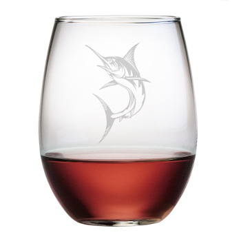 Marlin Stemless Wine Glasses (Set Of 4)