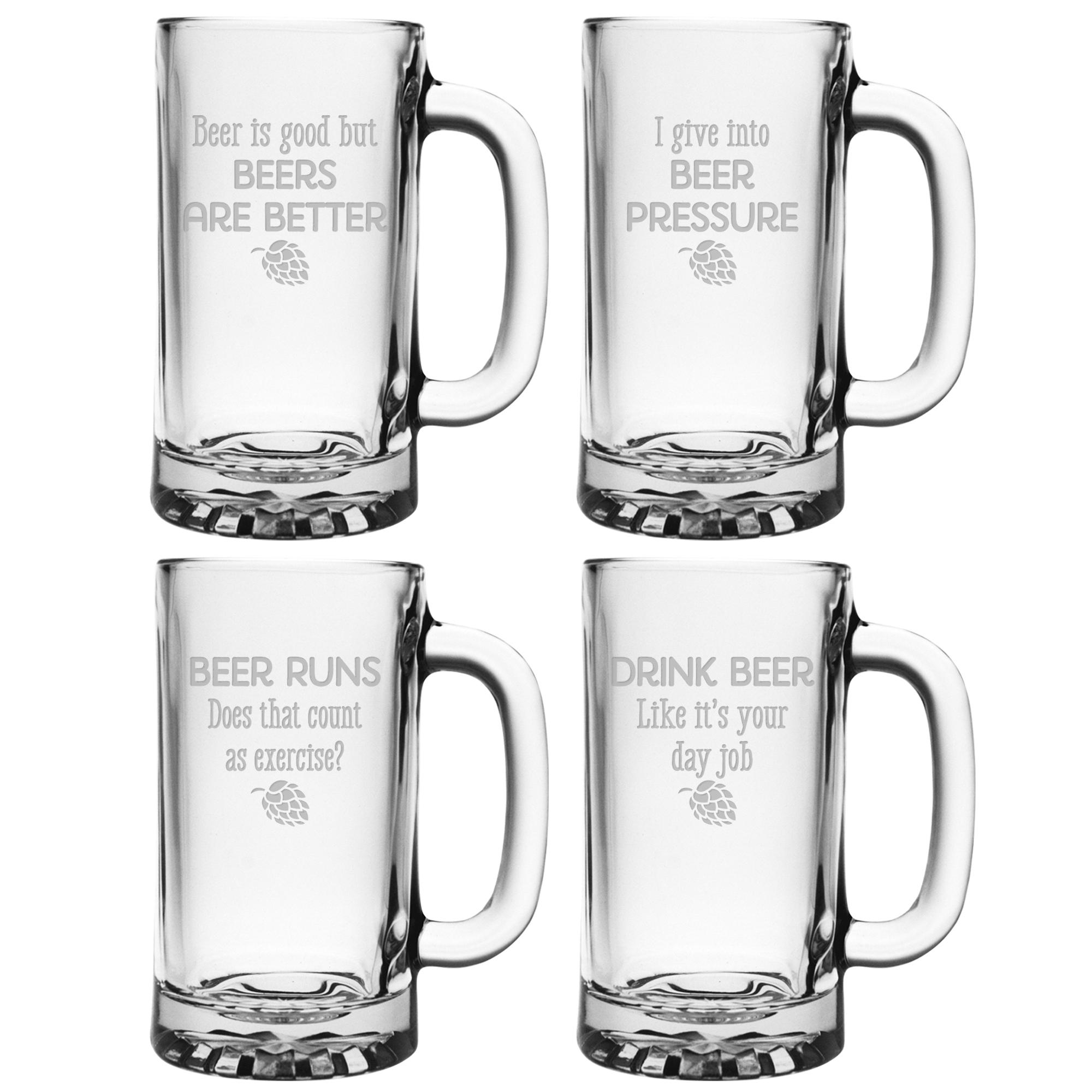 Funny Beer Sayings Mugs