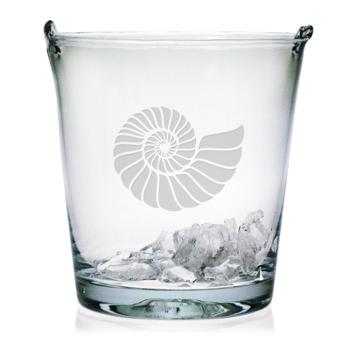 Nautilus Shell Ice Bucket, 8In.,