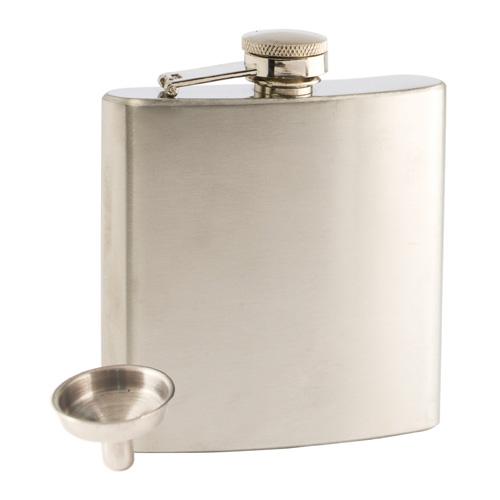 Trueflask 6 Ounce Stainless Steel Flask