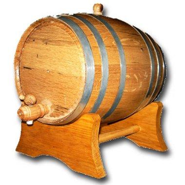 20 Liter Oak Barrel