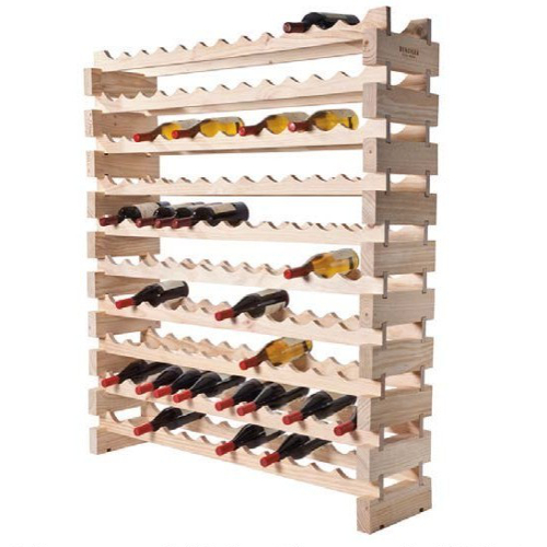 120 Bottle Modular Wine Rack - Natural