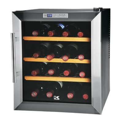 16 Bottle Dual Zone Wine Cooler