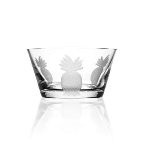 Pineapple Clear Small Bowl 6