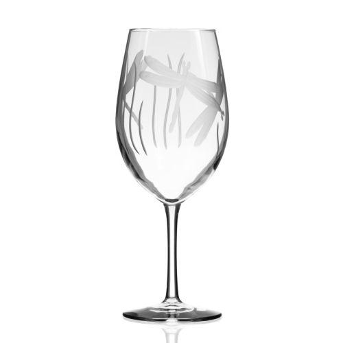 Dragonfly AP Wine Glasses 18 oz Set of 4