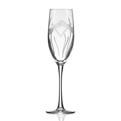 Dragonfly Champagne Flute 8 oz Set of 4