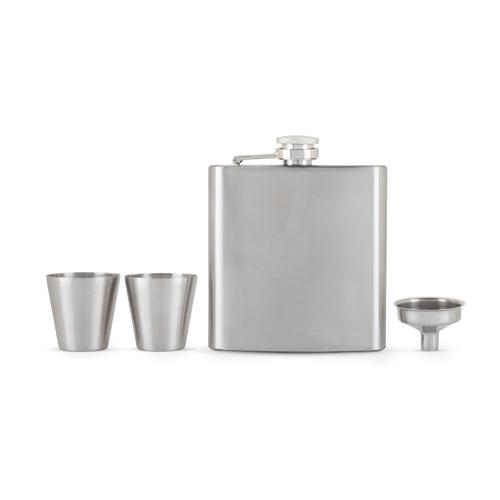 Fiasco Flask And Shot Glass Gift Set