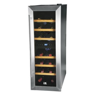 21 Wine Bottles Dual Zone Wine Cooler