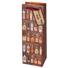 Saloon Sack Illustrated Wine Bag