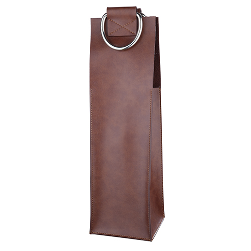 Admiral: Brown Wine Tote