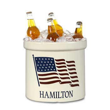 American Heritage Crock, Personalized