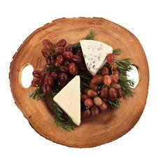 Rustic Farmhouse Acacia Wood Cheese Board by Twine