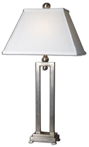 Uttermost Conrad Silver Table Lamp
