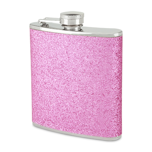 Sparkletini 6 oz Party Flask Pink
