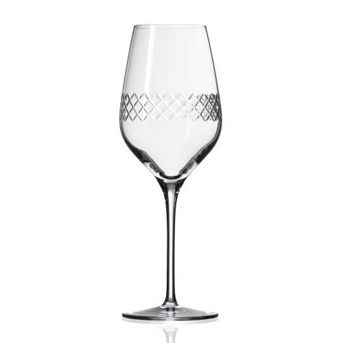 Diamond White Wine Glasses 14.75 oz Set of 4