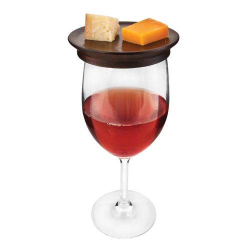 Rustic Farmhouse: Wine Glass Topper Appetizer Plates