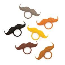 Incognito: Mustache Bottle Neck Markers