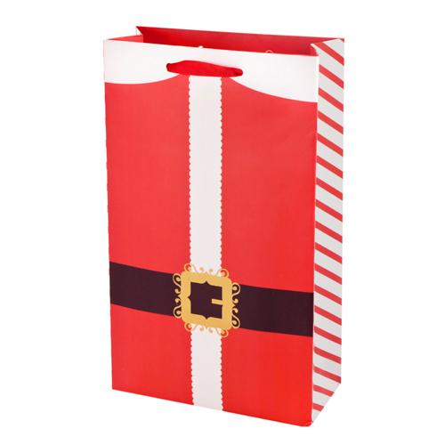 2-Bottle Santa's Belt Wine Bag