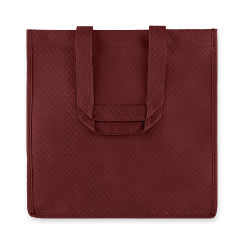 6 Bottle Non Woven Tote In Red