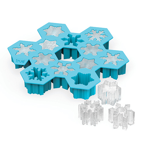 Snowflake Silicone Ice Cube Tray Zoo