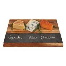 Rustic Farmhouse: Wood with Slate Board
