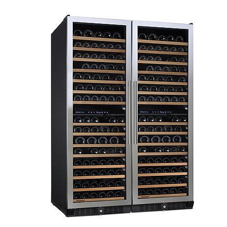 N'FINITY PRO L Double Wine Cellar (Stainless Steel Door)
