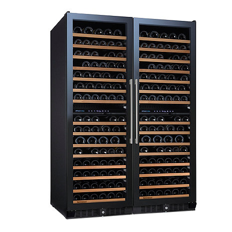 N'FINITY PRO L Double RED Wine Cellar (Full Glass Door)