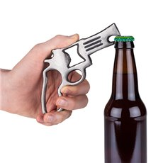 Pistol Cast Iron Bottle Opener by Foster and Rye