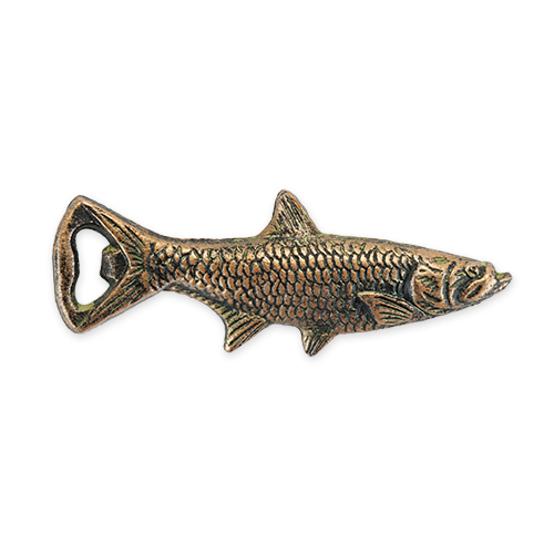 Cast Iron Fish Bottle Opener by Foster and Rye
