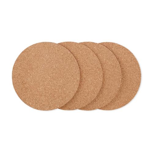 Buoyant Tabletop Cork Coasters (set of 24)