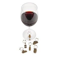 Grapevine Vineyard Wine Charms by Twine