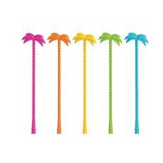 Palm Tree Stir Sticks (Set Of 5) Zoo