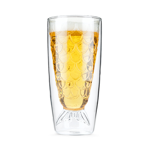 Drink Like A Fish Double Wall Glass