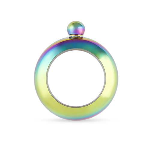 Charade: Rainbow Bracelet Flask by Blush