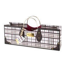 Plaid Wine Purse Bag
