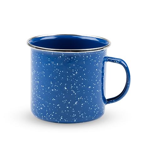Blue Enamel Mug by Foster and Rye