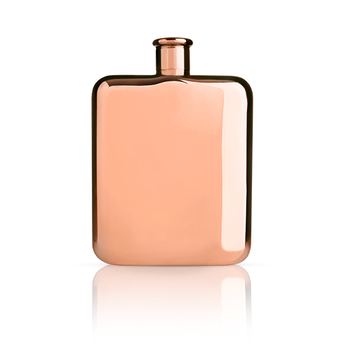 Summit Copper Plated Flask by Viski