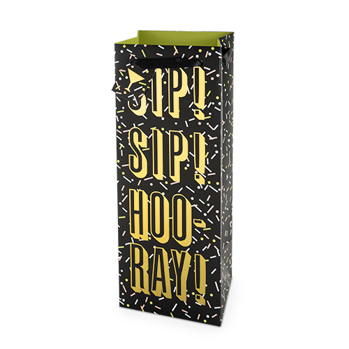 Sip Sip Hooray 1.5L Bottle Bag By Cakewalk