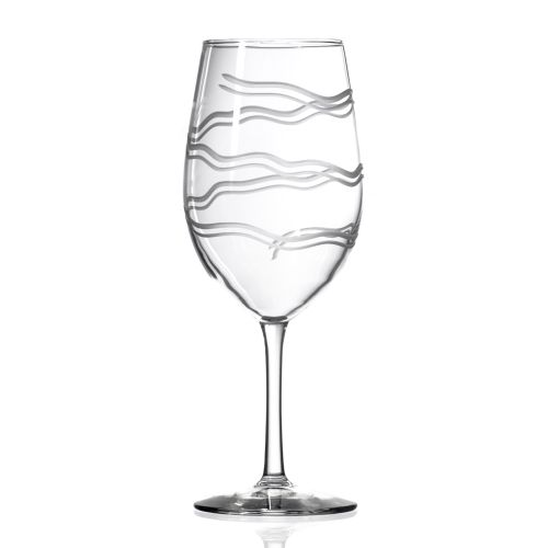 Good Vibrations AP Wine Glasses 18 oz Set of 4