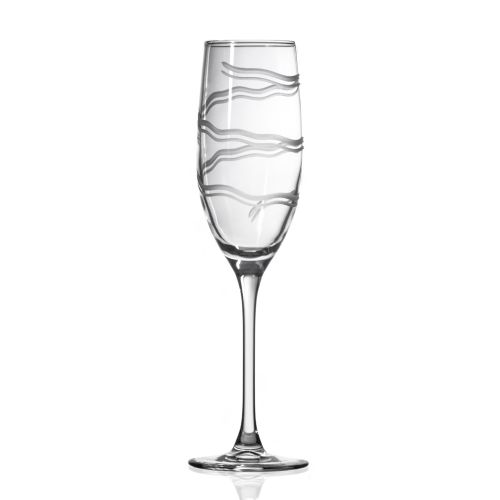 Good Vibrations Champagne Flute 8 oz Set of 4