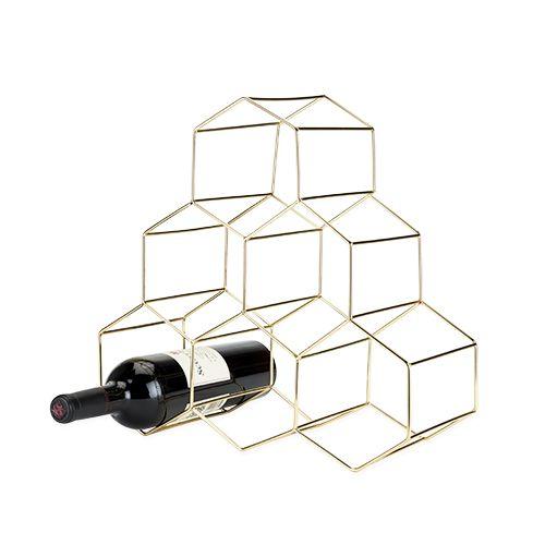 Belmont: Geo Wine Rack