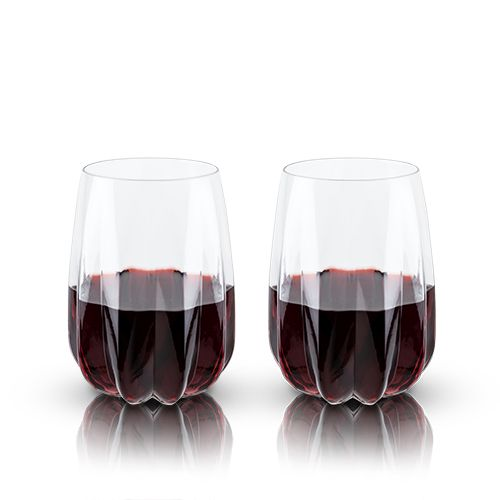 Raye: Crystal Cactus Wine Glasses
