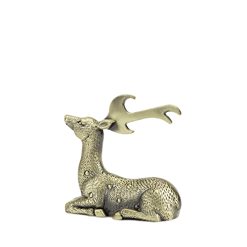 Rustic Holiday: Gilded Deer Bottle Opener by Twine