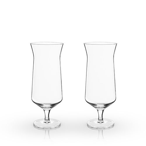 Raye: Angled Hurricane Glass